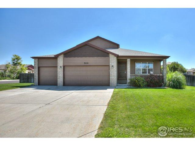 504 Vivian St, Severance, CO 80546 (MLS #856317) :: The Daniels Group at Remax Alliance