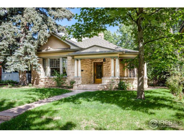 445 Highland Ave, Boulder, CO 80302 (MLS #856485) :: The Daniels Group at Remax Alliance
