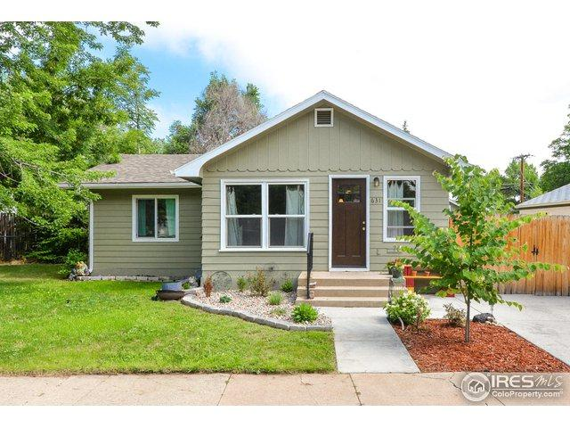 631 E 12 St, Loveland, CO 80537 (MLS #856560) :: The Daniels Group at Remax Alliance