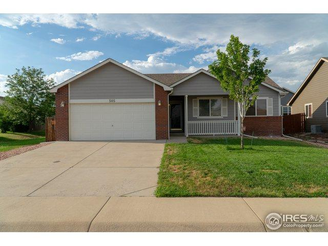 505 E 28th St Ln, Greeley, CO 80631 (MLS #856696) :: The Daniels Group at Remax Alliance