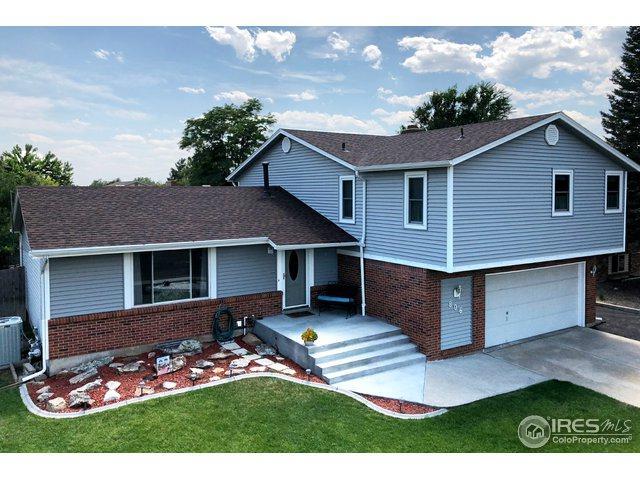 806 W 36th St, Loveland, CO 80538 (MLS #856958) :: Kittle Real Estate
