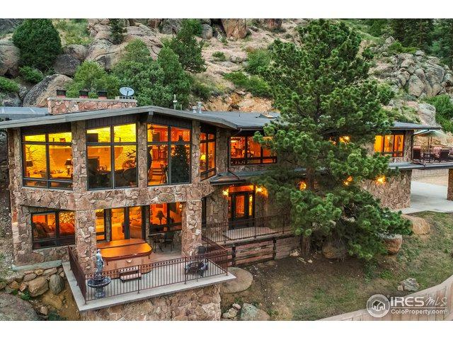 2701 Fall River Rd, Estes Park, CO 80517 (MLS #856963) :: The Lamperes Team