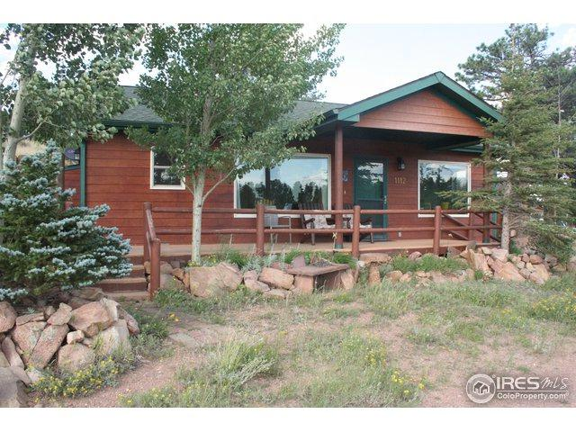 1112 Ramona Dr, Red Feather Lakes, CO 80545 (MLS #856979) :: Kittle Real Estate