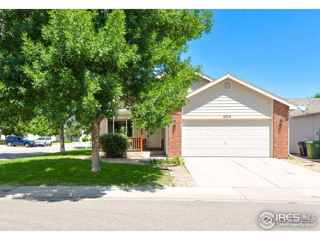 2315 Turquoise St, Loveland, CO 80537 (MLS #856985) :: Kittle Real Estate