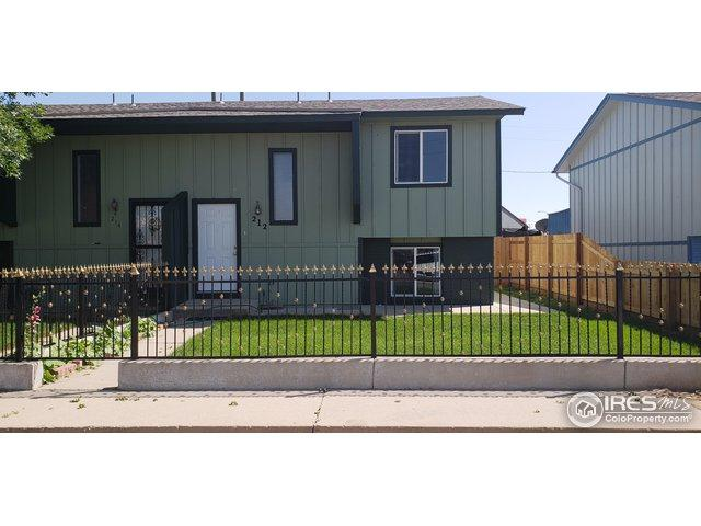 212 6th St, Gilcrest, CO 80623 (MLS #857914) :: Downtown Real Estate Partners