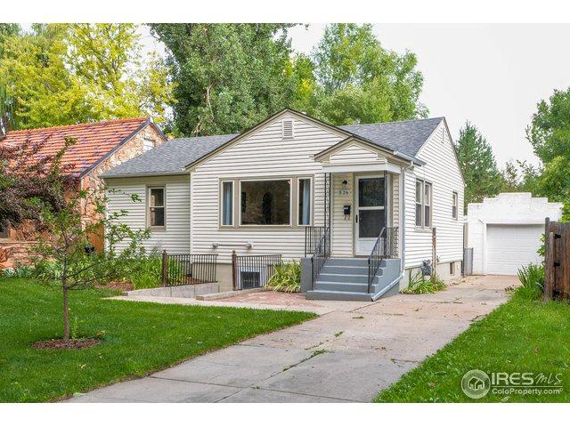 826 W Magnolia St, Fort Collins, CO 80521 (#858549) :: The Griffith Home Team