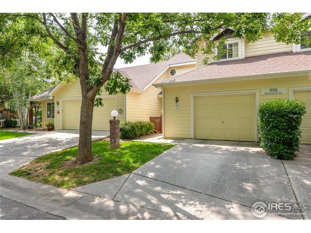 956 Richmond Dr #2, Fort Collins, CO 80526 (MLS #858610) :: Tracy's Team