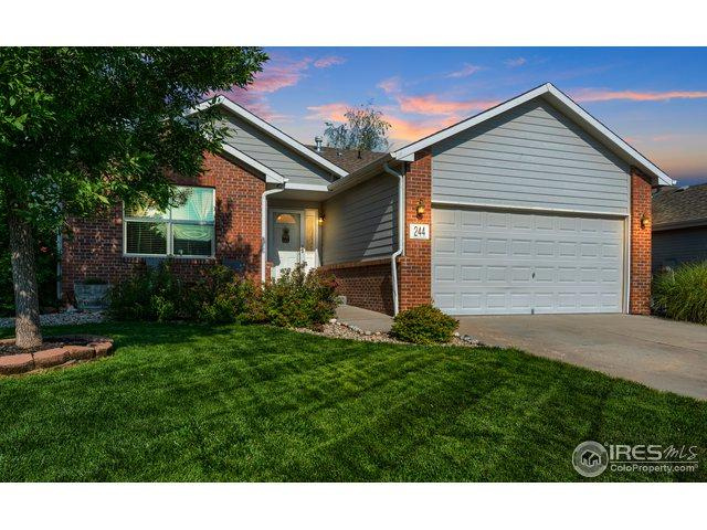 244 Sandstone Dr, Johnstown, CO 80534 (MLS #858983) :: The Daniels Group at Remax Alliance
