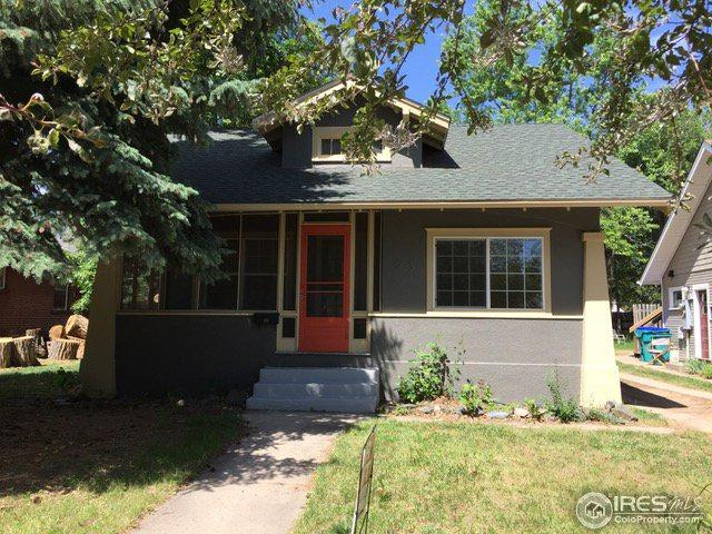 233 N Sherwood St, Fort Collins, CO 80521 (MLS #859071) :: Downtown Real Estate Partners