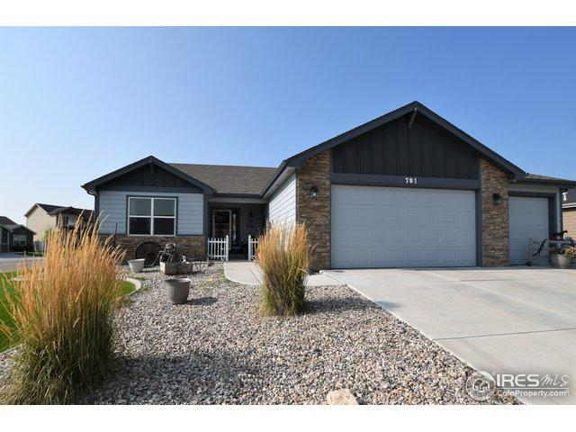 701 Ponderosa Dr, Severance, CO 80550 (#859145) :: The Peak Properties Group