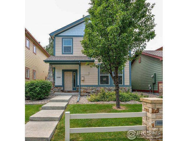 2509 Custer Dr, Fort Collins, CO 80525 (#859372) :: The Peak Properties Group