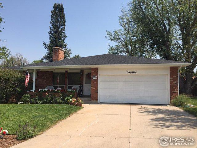 1848 25th Ave, Greeley, CO 80634 (MLS #859465) :: The Daniels Group at Remax Alliance