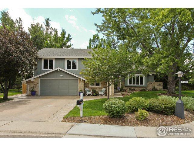 643 Crawford Cir, Longmont, CO 80504 (#860604) :: The Griffith Home Team