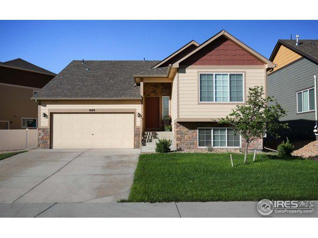 449 Kendalbrook Dr, Windsor, CO 80550 (#860931) :: The Peak Properties Group