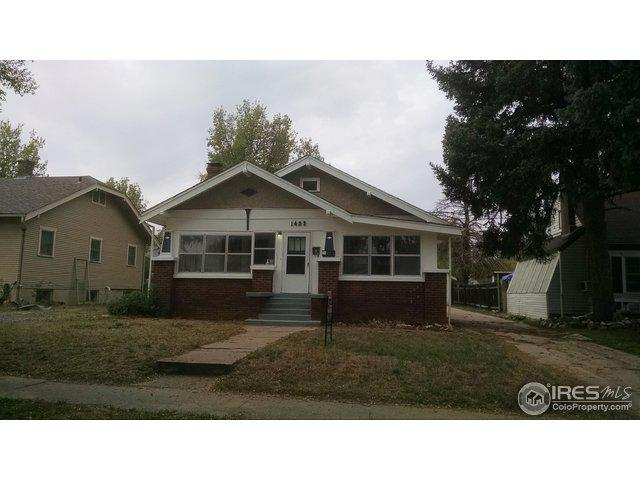 1423 15th Ave, Greeley, CO 80631 (#861167) :: The Peak Properties Group