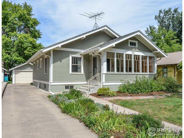712 W Oak St, Fort Collins, CO 80521 (#861200) :: The Griffith Home Team
