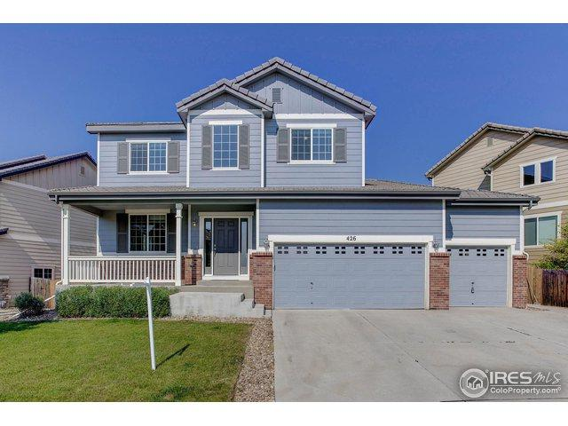 426 Graham Cir, Erie, CO 80516 (#861407) :: The Peak Properties Group