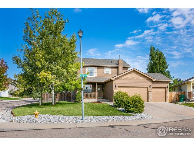 3108 Holiday Ct, Evans, CO 80620 (#861435) :: The Peak Properties Group
