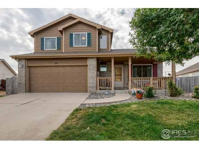 842 S Carriage Dr, Milliken, CO 80543 (#861471) :: The Peak Properties Group