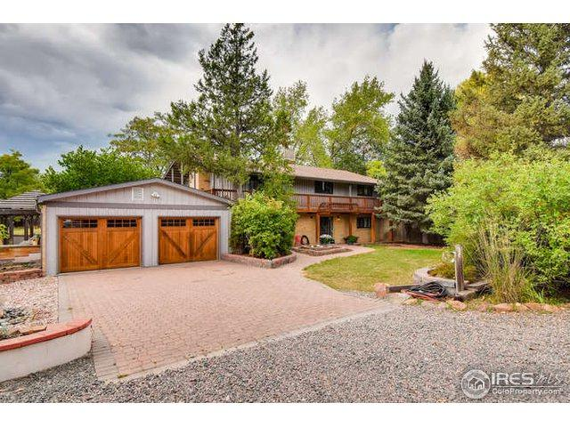 7240 Terrace Pl, Boulder, CO 80303 (#861856) :: The Peak Properties Group