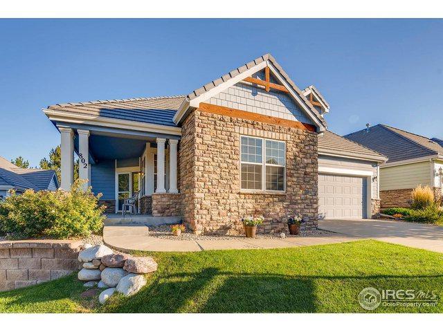 802 Windflower Dr, Longmont, CO 80504 (#862001) :: The Peak Properties Group