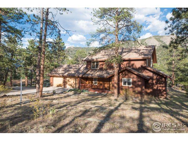 2850 Aspen Dr, Estes Park, CO 80517 (#862446) :: The Griffith Home Team