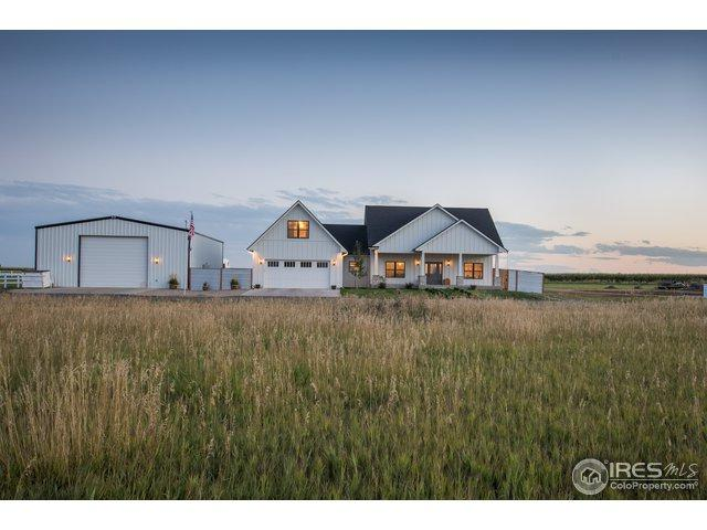 4822 County Road 50, Johnstown, CO 80534 (#862661) :: The Peak Properties Group