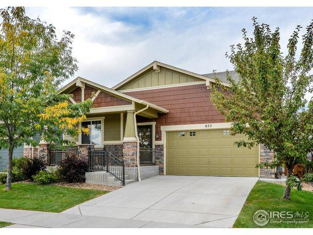 822 Crooked Creek Way, Fort Collins, CO 80525 (MLS #862760) :: The Daniels Group at Remax Alliance