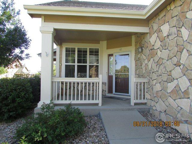 6608 W 3rd St #61, Greeley, CO 80634 (MLS #862851) :: Tracy's Team