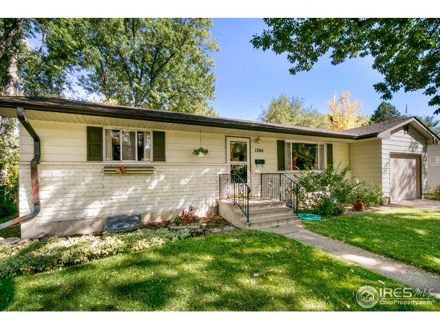 1204 Lynnwood Dr, Fort Collins, CO 80521 (MLS #863413) :: The Lamperes Team