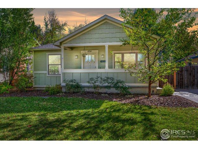 634 S Grant Ave, Fort Collins, CO 80521 (MLS #863857) :: The Daniels Group at Remax Alliance