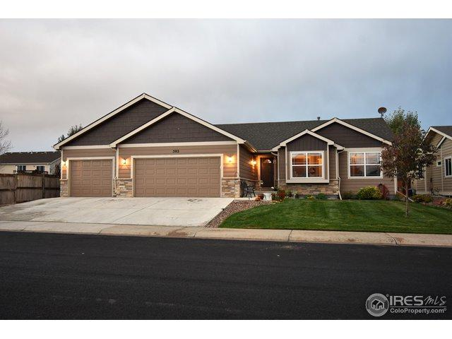 502 Prairie Clover Way, Severance, CO 80550 (MLS #864041) :: 8z Real Estate