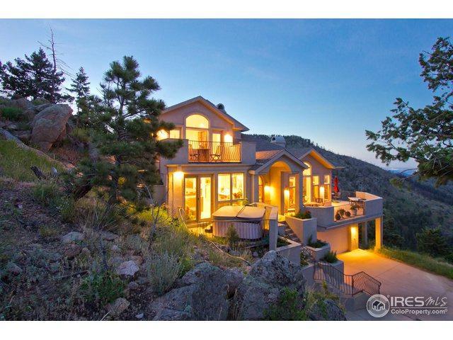 7400 Sunshine Canyon Dr, Boulder, CO 80302 (MLS #864089) :: 8z Real Estate