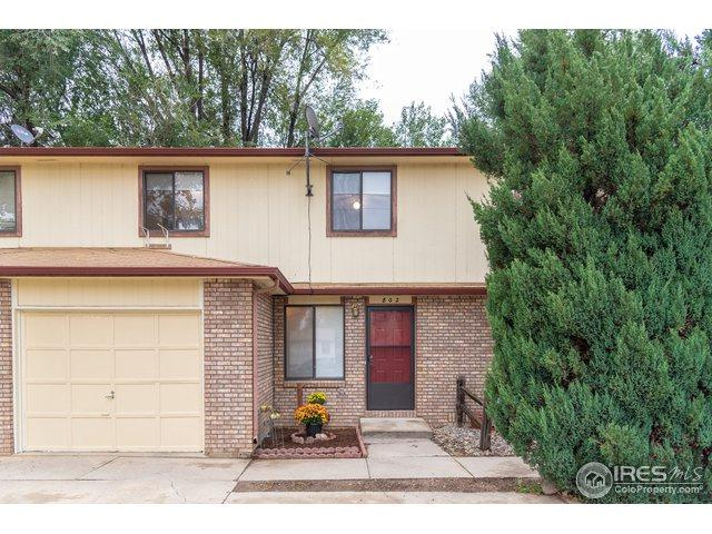 802 Lashley St, Longmont, CO 80504 (MLS #864450) :: The Daniels Group at Remax Alliance