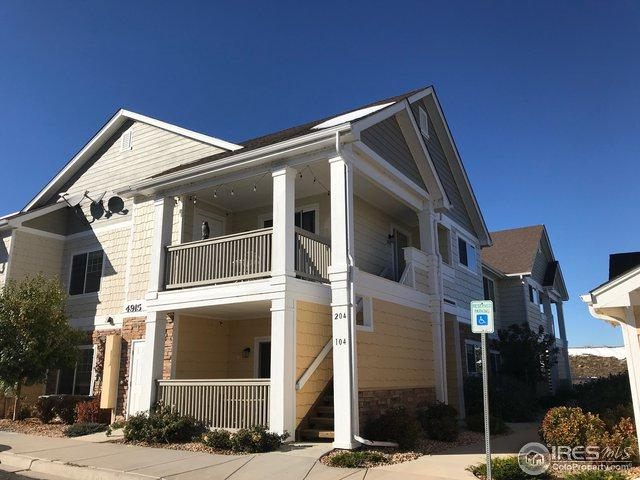 4915 Hahns Peak Dr #204, Loveland, CO 80538 (MLS #864696) :: The Daniels Group at Remax Alliance