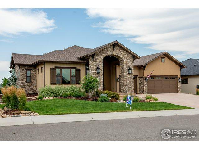 3946 Ridgeline Dr, Timnath, CO 80547 (MLS #864766) :: The Lamperes Team