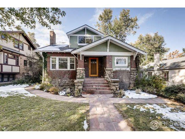 1019 11th St, Boulder, CO 80302 (#864925) :: The Peak Properties Group