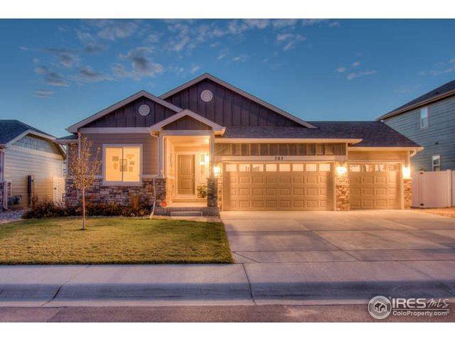707 Vermilion Peak Ct, Windsor, CO 80550 (MLS #864934) :: Kittle Real Estate