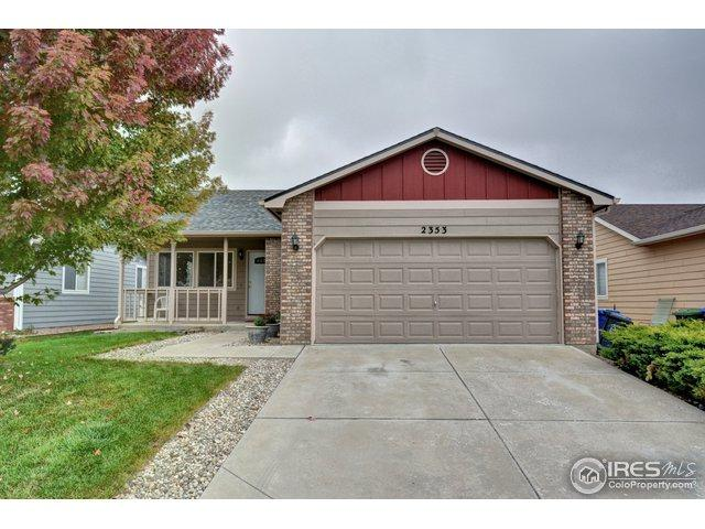 2353 Turquoise St, Loveland, CO 80537 (MLS #864969) :: The Daniels Group at Remax Alliance