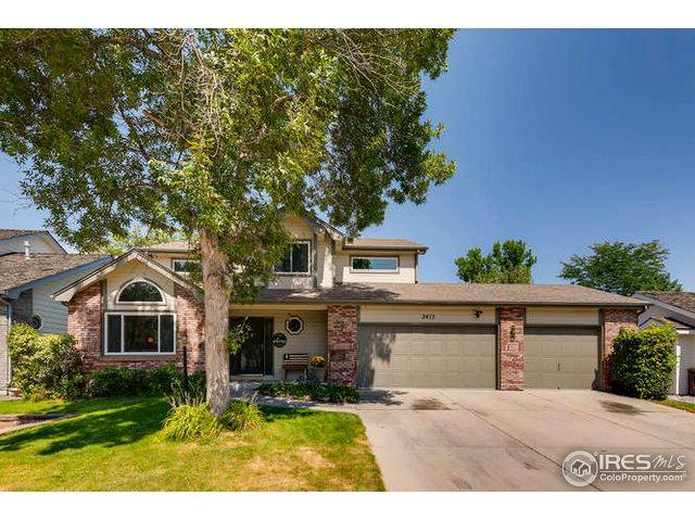 2415 Amber Dr, Loveland, CO 80537 (MLS #864985) :: The Daniels Group at Remax Alliance