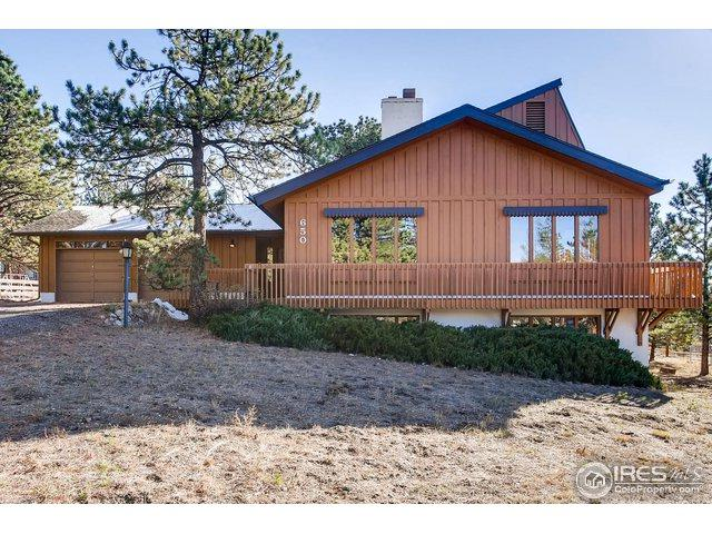 650 Freeland Ct, Estes Park, CO 80517 (MLS #865231) :: The Lamperes Team
