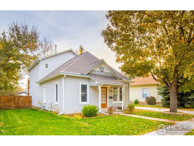 608 W 6th St, Loveland, CO 80537 (MLS #865369) :: Downtown Real Estate Partners