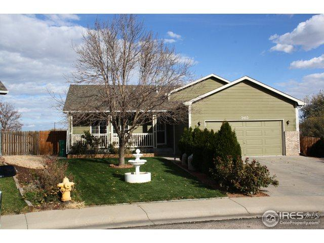 2403 Haven Ct, Evans, CO 80620 (MLS #865532) :: The Daniels Group at Remax Alliance
