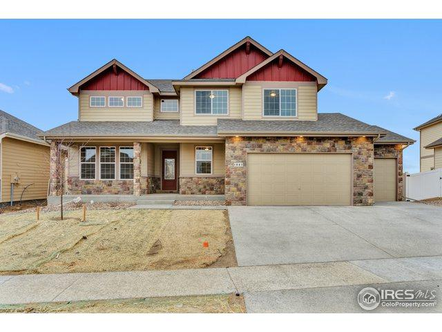 877 Sunlight Peak Dr, Severance, CO 80550 (MLS #866742) :: Kittle Real Estate