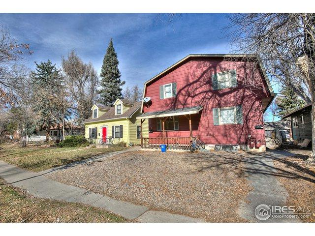 802 W Laurel St, Fort Collins, CO 80521 (MLS #866999) :: Downtown Real Estate Partners