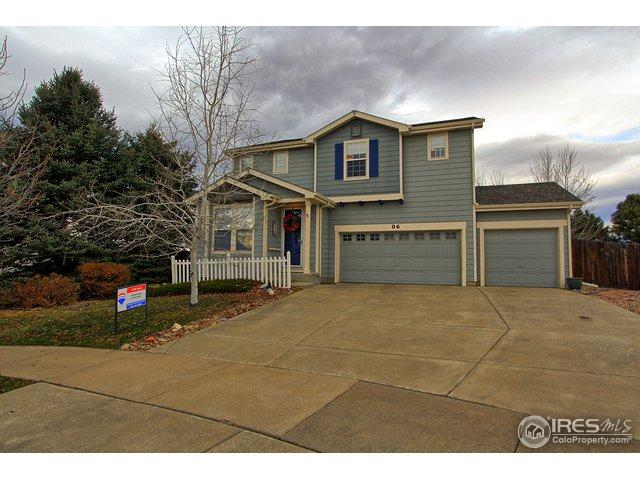 86 Bonanza Dr, Erie, CO 80516 (MLS #867537) :: The Daniels Group at Remax Alliance