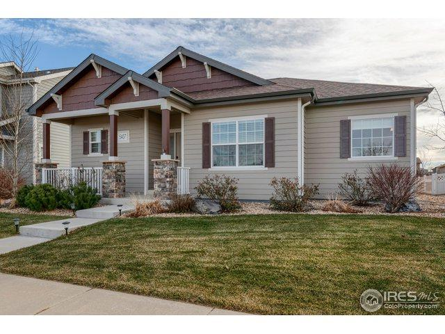 5407 School House Dr, Timnath, CO 80547 (MLS #867746) :: The Lamperes Team