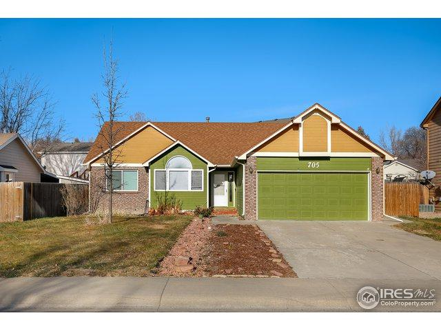 705 Country Acres Dr, Johnstown, CO 80534 (MLS #867786) :: The Lamperes Team