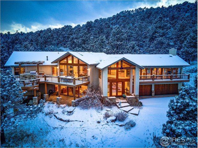 9533 Mountain Ridge Dr, Boulder, CO 80302 (MLS #868094) :: 8z Real Estate