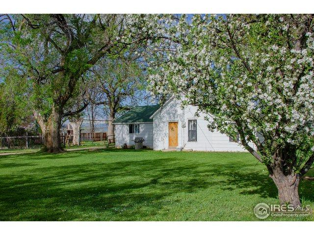 825 N County Road 21, Berthoud, CO 80513 (MLS #868326) :: The Daniels Group at Remax Alliance
